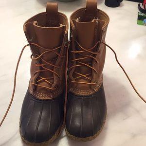 """Women's LL Bean Boots 8"""" Thinsulate Size 9M"""